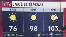 Se prevén temperaturas en los tres dígitos para este martes en Salt Lake City
