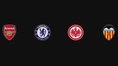 Estadísticas de Chelsea, Arsenal, Frankfurt y Valencia, semifinalistas de la Europa League