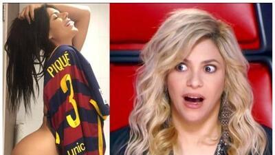 Ésta 'conejita' de Playboy no deja de coquetear con el esposo de Shakira