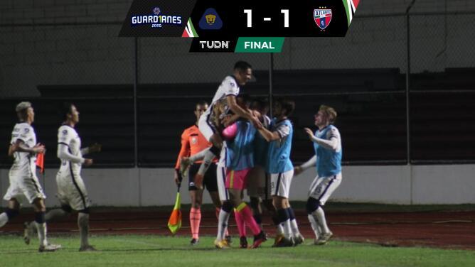 Resumen | Pumas Tabasco lucha y logra el empate de 1-1 ante Atlante