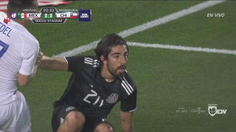 Gran jugada colectiva del Tri, pero no llegó Pizarro