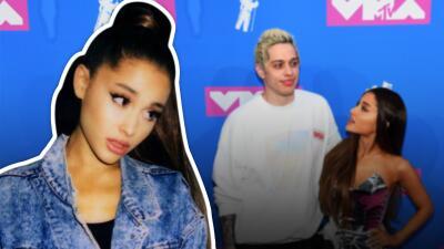 Ariana Grande responde a su exnovio Pete Davidson por la broma que hizo sobre su fugaz relación