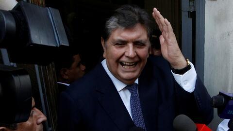 Así fueron los últimos minutos de vida del expresidente de Perú, Alan García