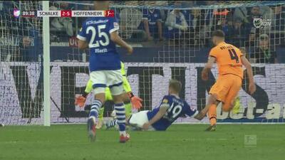Al 89 Guido Burgstaller descuenta y deja el marcador 2-5