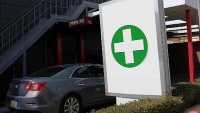 Dispensario de cannabis medicinal ahora tiene hasta servi-carro