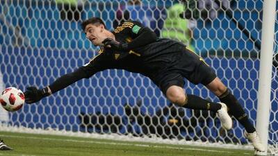 Thibaut Courtois, el 'ángel salvador' que tiene a Bélgica a un paso de la final