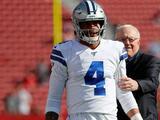 Jerry Jones respalda a Dak Prescott y asegura que no buscan quarterback