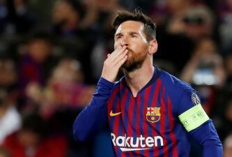 En fotos: el toque de Lionel Messi en el paso de Barcelona a Cuartos en la Champions League