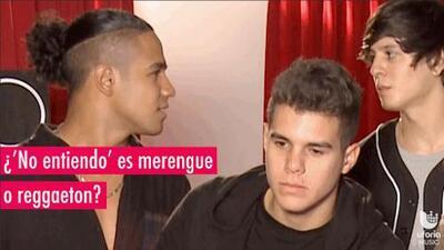 Richard y Christopher de CNCO debaten si 'No entiendo' es merengue o reggaeton