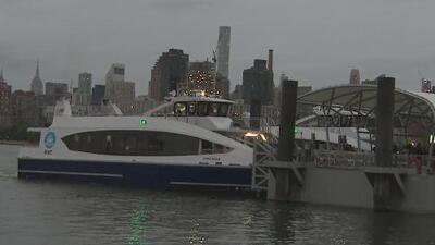 Estrenan nueva línea del Ferry entre Manhattan y Queens