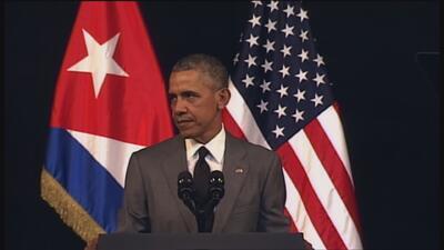 Obama condena los ataques en Bruselas