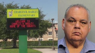 Arrestan a un maestro de una escuela primaria de Miami-Dade acusado de acoso sexual infantil