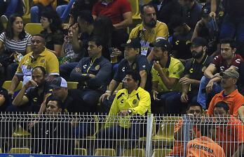 En fotos: con Diego Maradona en la tribuna, Dorados sucumbió en casa con el Atlante