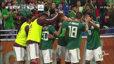 Hugo Ayala abre el marcador y México ya le gana 1-0 a Bosnia