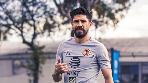 Buenas noticias para en América: Oribe Peralta ya entrenó con el grupo completo