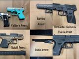Policía de Bakersfield realizó 10 arrestos durante el fin de semana de San Valentín