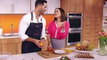 Los tips del día de Chef Yisus: un aderezo que sorprendió a Karla y cómo pelar fácilmente un melocotón