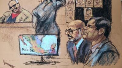 Audio de un trato con un guerrillero colombiano revela la faceta negociadora de 'El Chapo' en su juicio
