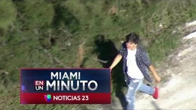 'Miami en un Minuto': detienen a tres menores sospechosos de robar y golpear a uno de sus compañeros de estudios