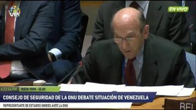 """""""Las democracias del mundo se están movilizando para apoyar a Juan Guaidó"""": Elliot Abrams en la ONU"""