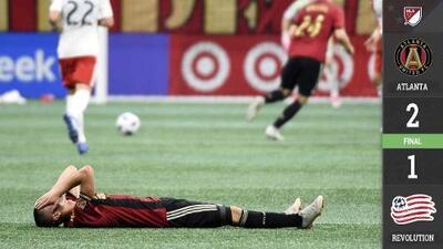 Lesión de Miguel Almirón opaca triunfo de Atlanta United sobre New England Revolution