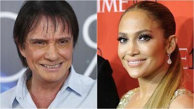 Roberto Carlos pone a cantar a Jennifer López en portugués