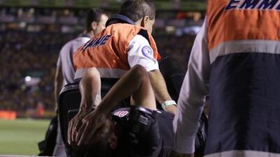 ¡Malas noticias para Necaxa! Carlos Guzmán sufrió fractura de tibia