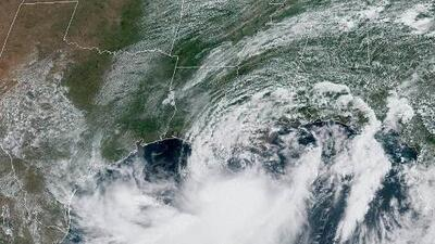 Barry sigue cobrando fuerza: la tormenta podría dejar más de 25 pulgadas de lluvia en algunas zonas