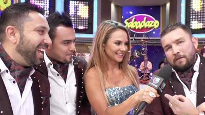 Ximena Córdoba fue la gran estrella del primer detrás de cámaras de Sabadazo en Univision