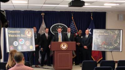 Desmantelan 7 células del cartel del Golfo que usaban Houston como base para traficar cocaína