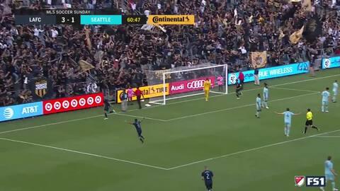Christian Ramirez finaliza un 'jugadón' colectivo del LAFC con el cuarto gol sobre Seattle