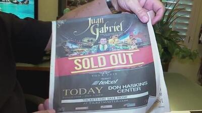 El concierto que no llegó a dar Juan Gabriel en El Paso