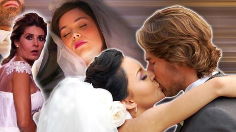Estas 10 bodas de telenovela son inolvidables: fueron interrumpidas y algunas terminaron en tragedia