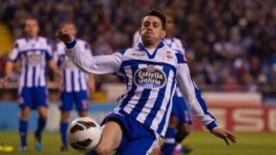 Valladolid aseguró su permanencia y la de Levante al vencer y hundir al Deportivo