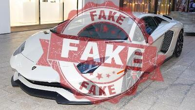 Shino está considerando seriamente comprarse un Lamborghini falso
