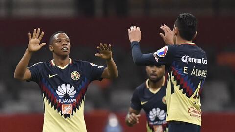 Un gol del América entre los mejores de la Liga de Campeones de la Concacaf