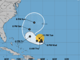 El huracán José girará en 48 horas en dirección a las Bermudas, muy lejos de la costa de EEUU