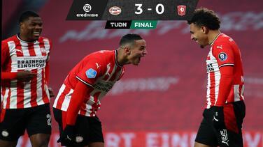 PSV vuelve al camino del triunfo y vence con autoridad al Twente