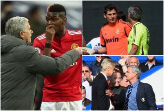 La lista negra de Mourinho: Pogba y otros enemigos del entrenador portugués