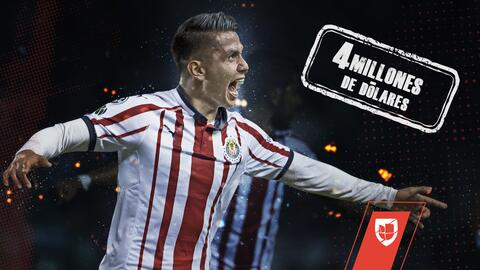 ¿Los vale? Chivas pagó 4mdd por Dieter Villalpando