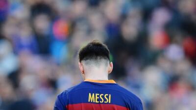 Messi se apunta otro récord, pero éste es negativo