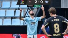El Celta hilvanó su cuarta victoria en LaLiga