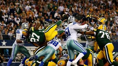Los Green Bay Packers derrotaron a los Dallas Cowboys en el AT&T Stadium de Arlington