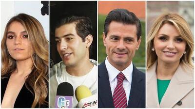 Así reacciona el novio de Sofía Castro al ser cuestionado por el divorcio de Angélica Rivera y Enrique Peña Nieto
