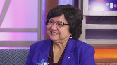 Lupe Valdez: 'mis prioridades son la educación pública y la salud'