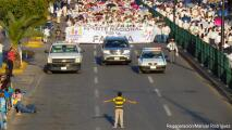 Niño se interpone ante protesta contra el matrimonio igualitario
