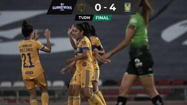 Tigres goleó a Juárez y sigue imparable en la Liga MX Femenil