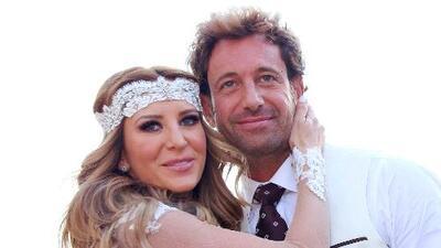 ¡Todos los detalles de la boda de Geraldine Bazán y Gabriel Soto!