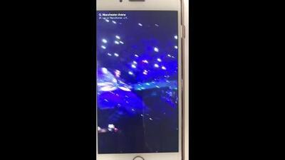 En video: El concierto de Ariana Grande en el Manchester Arena momentos antes de la explosión