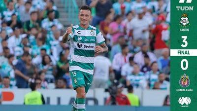 Goleada a Chivas, víctima de sus errores
